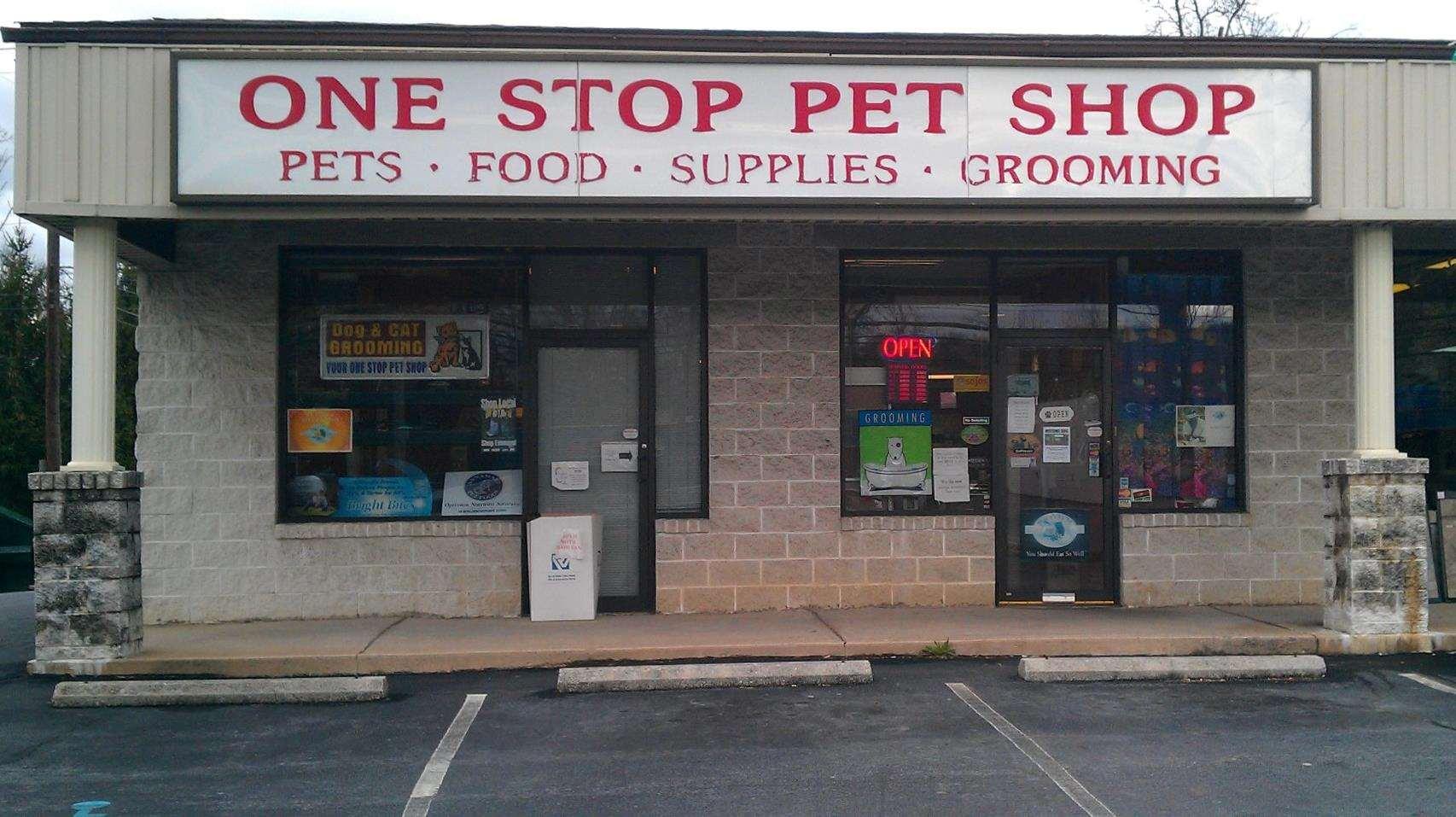 One Stop Pet Shop Emmaus Pa Pet Supplies