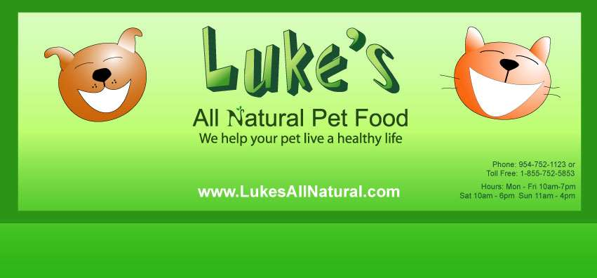 Luke's All Natural Pet Food