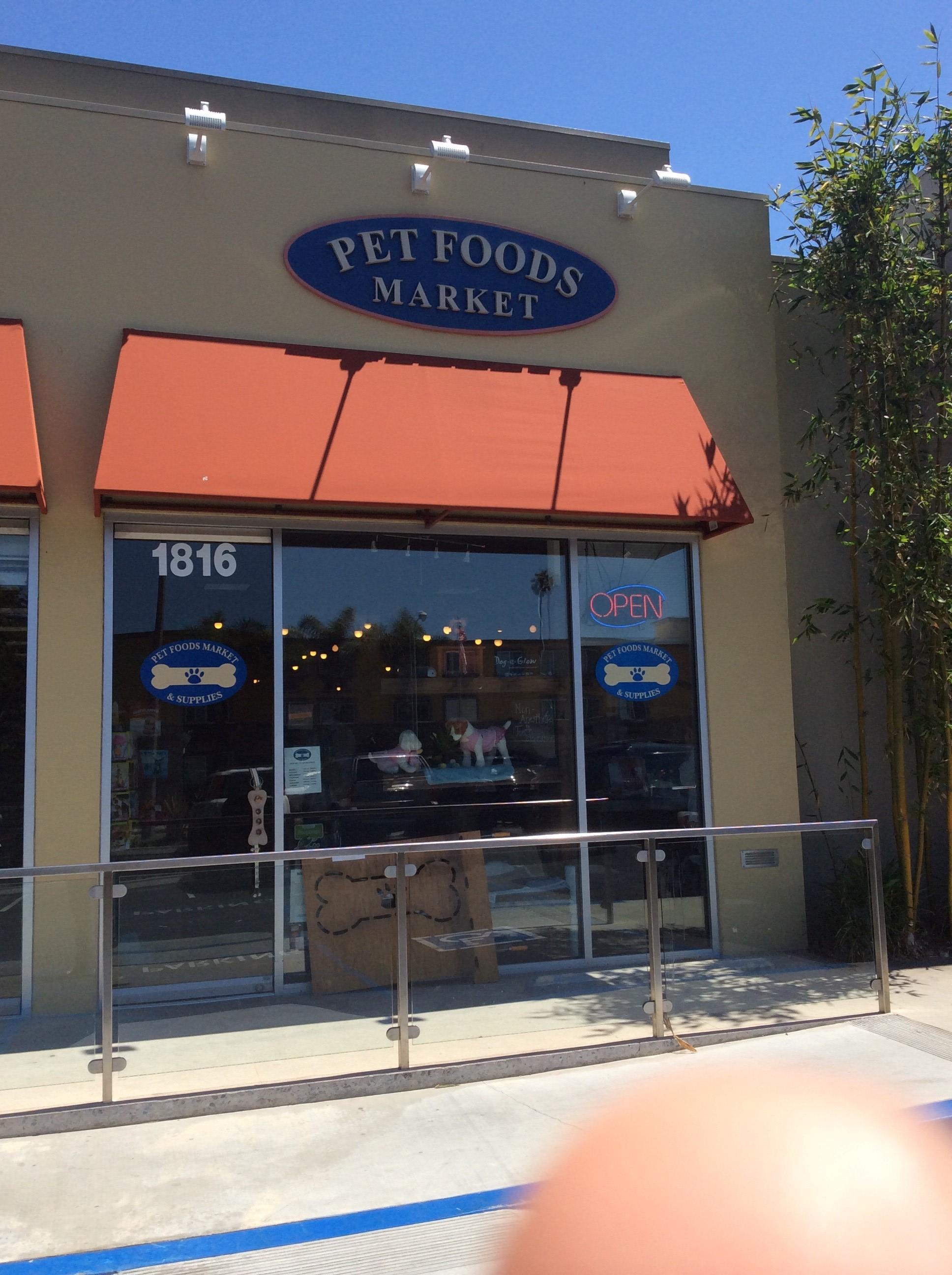 Pet Food Store On Sepulveda Blvd