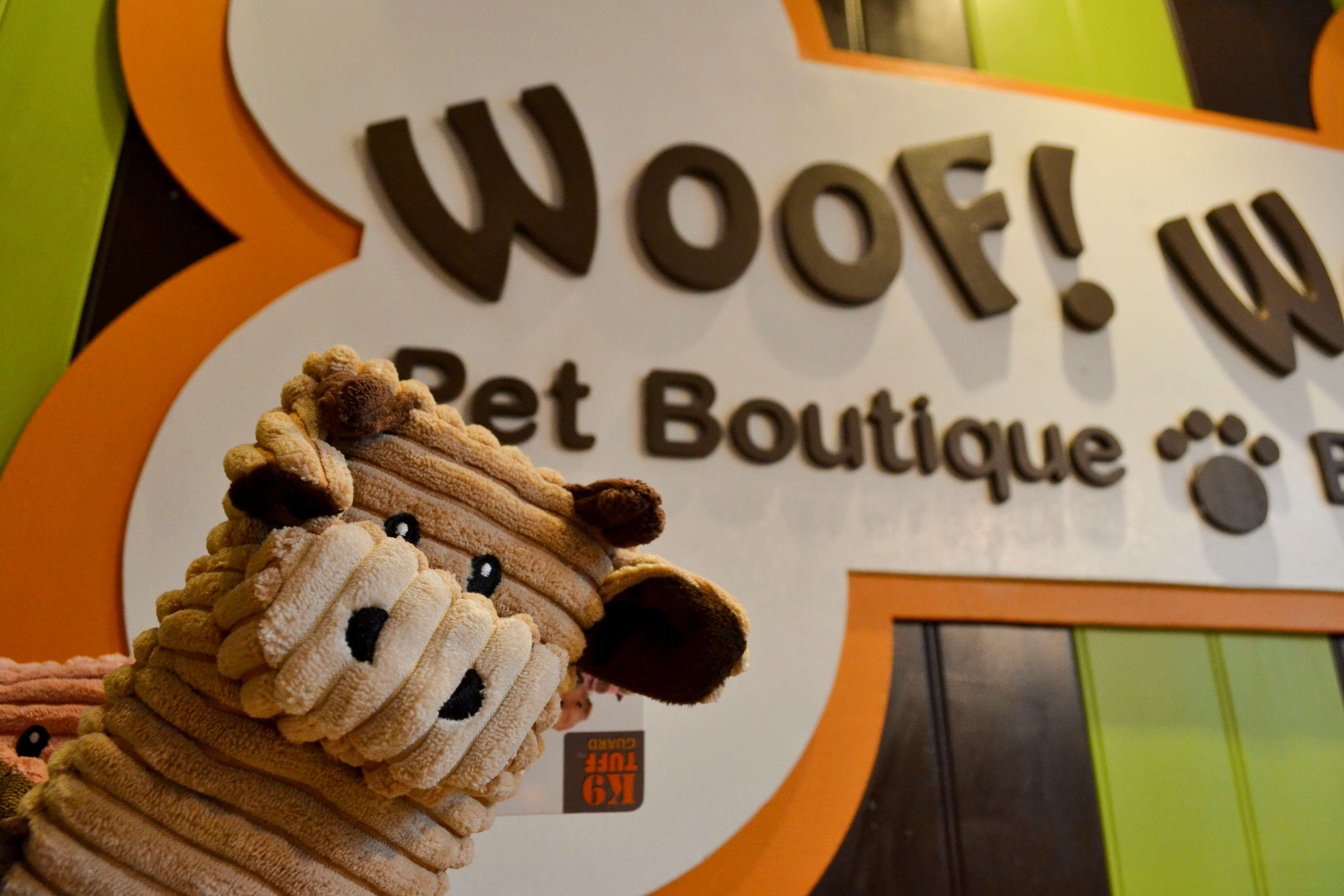 WOOF! WOOF! Pet Boutique & Biscuit Bar