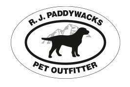 RJ Paddywack's Pet Outfitter