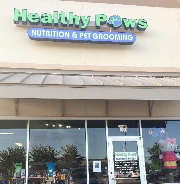 Healthy paws nutrition and pet spa league city tx pet for A family pet salon