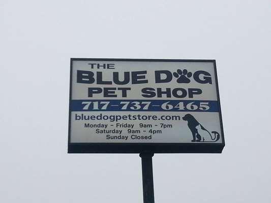 The Blue Dog Pet Shop