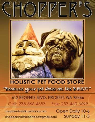 Chopper's Holistic Pet Food