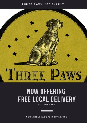 Three Paws Pet Supply