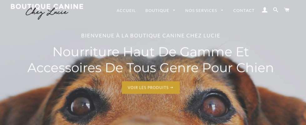 Boutique Canine Chez Lucie