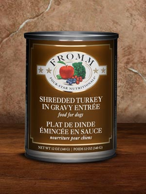 Shredded Turkey in Gravy Entrée