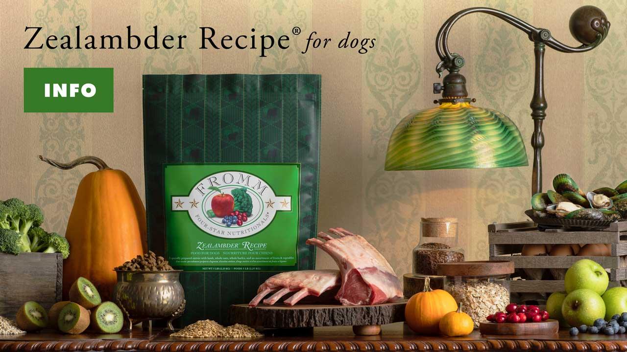 Zealambder Dog Food