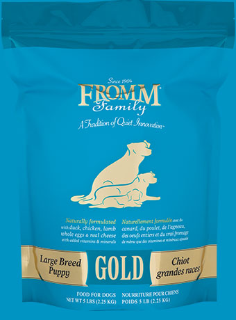 What Is The Best Dog Food for a Large Breed Dog? | Fromm Large Breed Puppy Gold Formula | Dogfood.guru