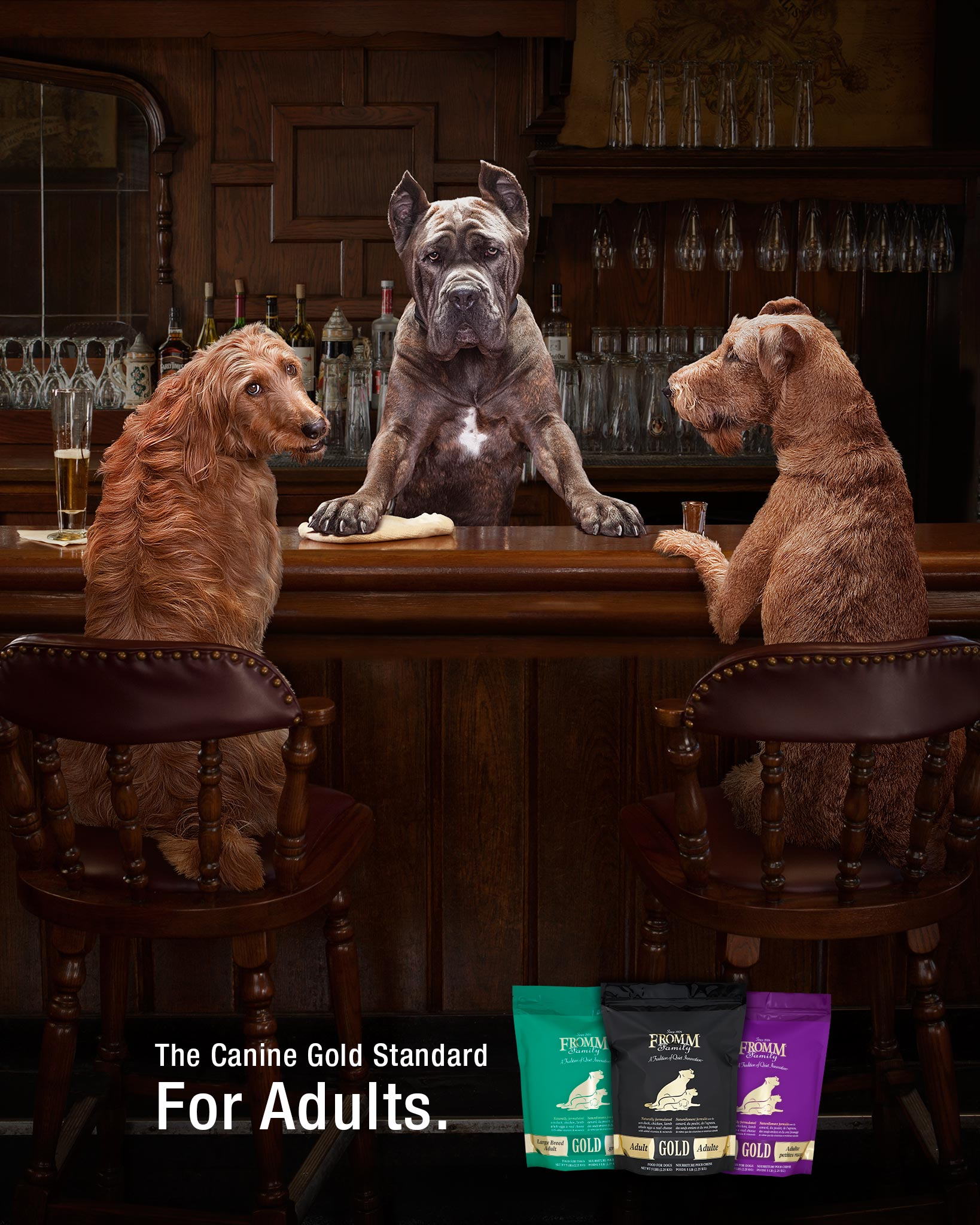 Senior Dog Food >> Gold Nutritionals for Dogs - Fromm Family Foods