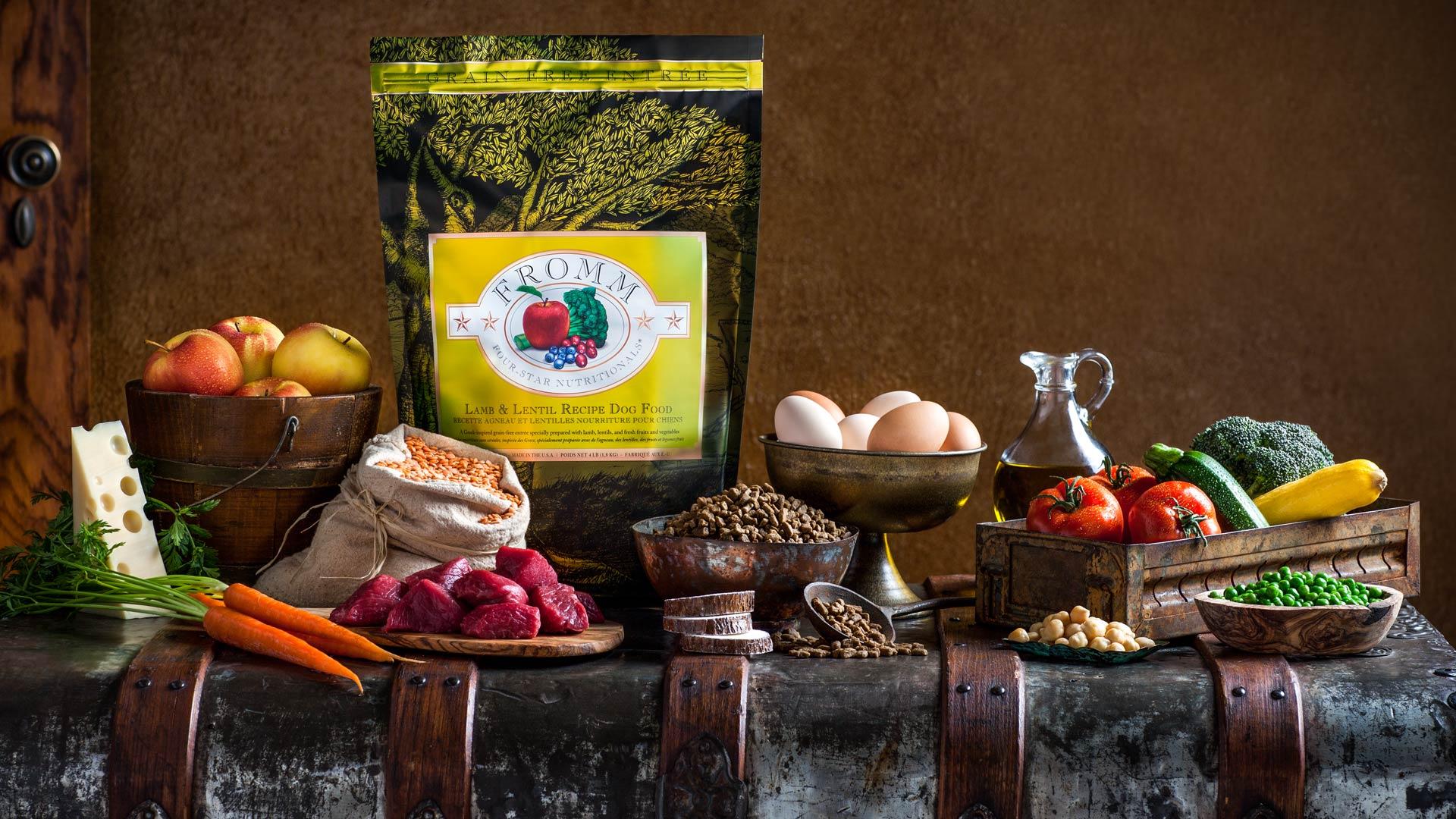 Lamb and Lentil Recipe Dog Food